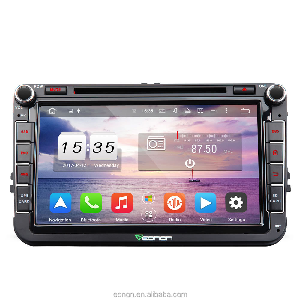 EONON GA7153A1 for Volkswagen/SEAT/Skoda Android 6.0 2GB RAM Octa-Core 8 inch Multimedia Car DVD GPS Navigation