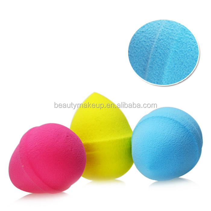 Hot sale Facial cleaning sponge Beauty makeup blender egg shape with the edge