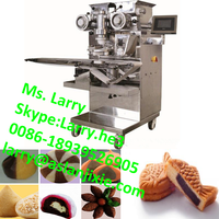maamoul encrusting machine/automatic mochi ice cream machine/filled cake encrusting making machine
