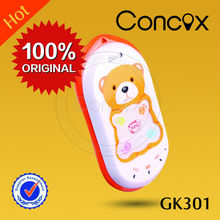 Low Cost Mobile Phone with GPS GK301 for Kids Realtime Tracking