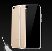 For iPhone 7 Case Funda Crystal Clear Transparent TPU Soft Phone Case Back Cover for iPhone 7 plus