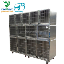 Modular pet dog combination stainless cage