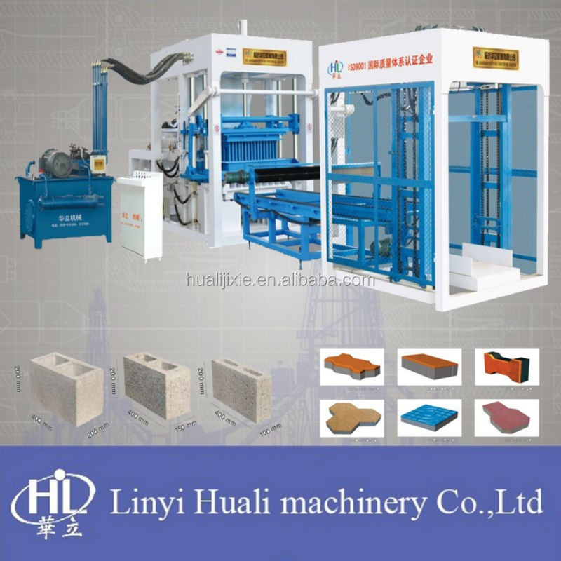 Concrete breeze block making machine QT4-15B automatic cement breeze block machine
