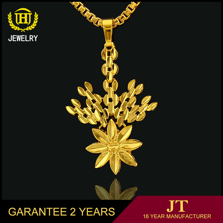 custom design gold jewelry 18k saudi gold pendant