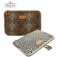 Free Shipping Pop Leopard Laptop Sleeve Case 10,11,12,13,14,15 inch Computer Bag, Notebook, For ipad Tablet, For MacBook