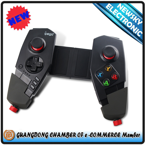NEW ARRIVAL wireless Bluetooth deformable telescopic tablet pc Gamepad controller for Android and IOS devices