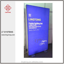 advertising display with aluminium led lighting box frame