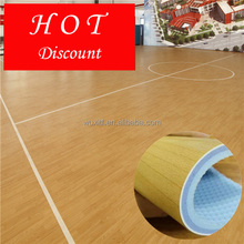 4.5mm pvc indoor basketball sports courts <strong>flooring</strong> for sale