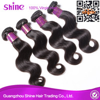 Cheap and high quality 100 premium body wave indian hair 10 inch hair extension