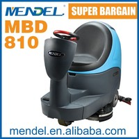 MBD 810 Battery operated Double Brush Auto Ride On Floor Cleaner