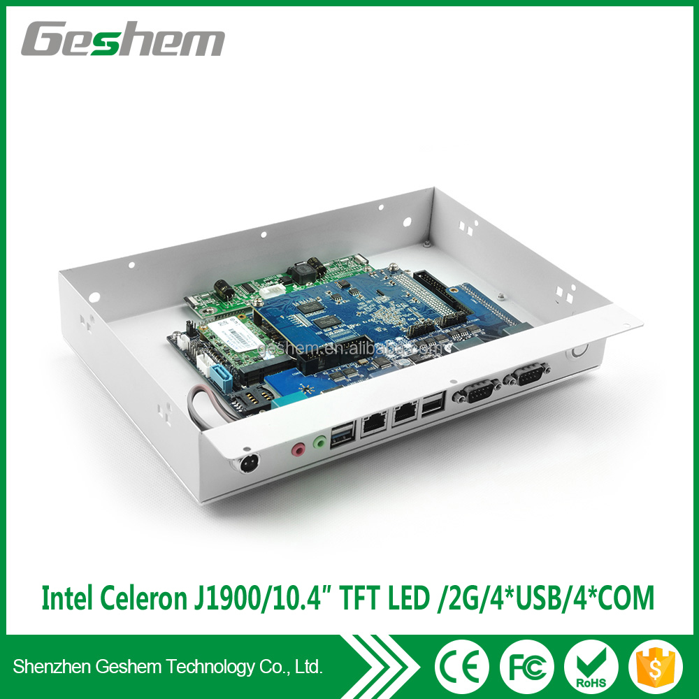 Cheap industrial pc price industrial touch screen panel pc for building auomation