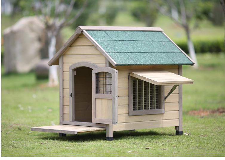 Cheap Dog Cage Wooden Decorative Dog Indoor House