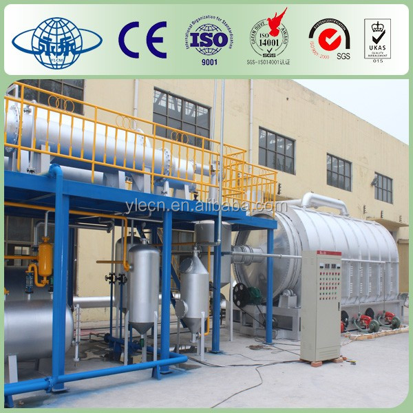 Yongle Huayin recycling used engine oil to diesel