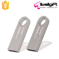 Promotion Giveaway Advertising High Quality Metal Laser Logo Digital USB Flash Disk Driver