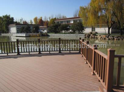 Garden supplies fence panels wood plastic composite private fencing, barrier panels