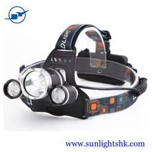 Most powerful 3000 lumens usb rechargeable mining flashlight headlight, 4 mode T6 headlamp for camping, head lamp for hunting