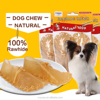 Natural Rawhide Dog Shoes Dog Chews