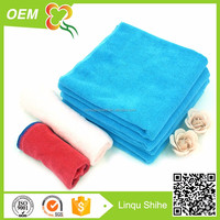 cheap price high quality promotion custom logo embroidery colored microfiber cloth
