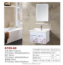 dressing mirror with Red Rose flower bahtroom cabinet