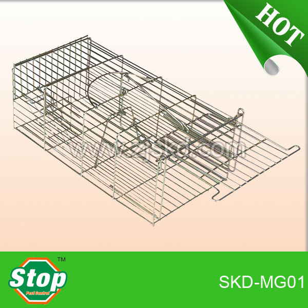 Metal rodent cages