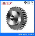 hetd brand ISO OEM High Precision non-standard Metal Gear Wheel Spur Gear