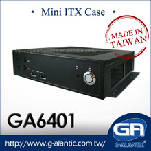 GA6401- Thin Mini-ITX chassis for thin client and digital signage
