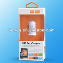 2100mA mini usb charger phone in car for iPhone