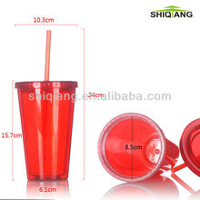 600ml empty plastic water bottle with cover