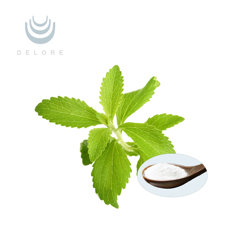 Organic stevia in bulk Rebaudioside A 98% stevia powder extract from dried stevia leaf extract