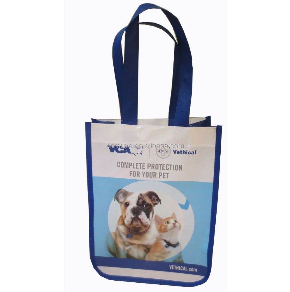 Promotional Cheap Customized Foldable Laminated Eco environmental non woven bag