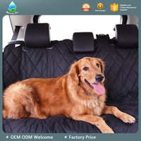 Hot Sale Water Proof Hammock Pet Car Seat Cover