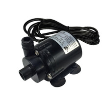 DC 5-12V Small Brushless Submersible solar fountain Pump for Notebook Aquarium