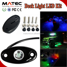 Factory Directly Mini Rock Light LED For SUV Truck Cars Boat Jeep Rock Under Lights Dome Light
