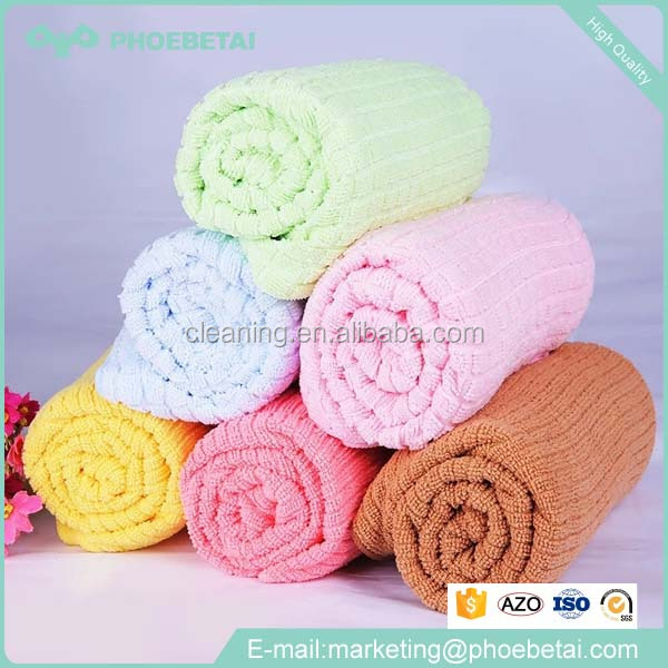 new style printed microfiber chamois cloth bath towel fabric roll