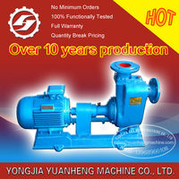 Self Priming Centrifugal water pump driven by diesel engine or motor, transfer clean water, sea water, up to 600m3/h