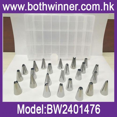 Stainless steel cake decorating tips ,h0tLb stainless steel piping tip set for sale