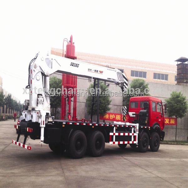 Hydraulic lifting Arm 16 ton Cranes Truck Mounted
