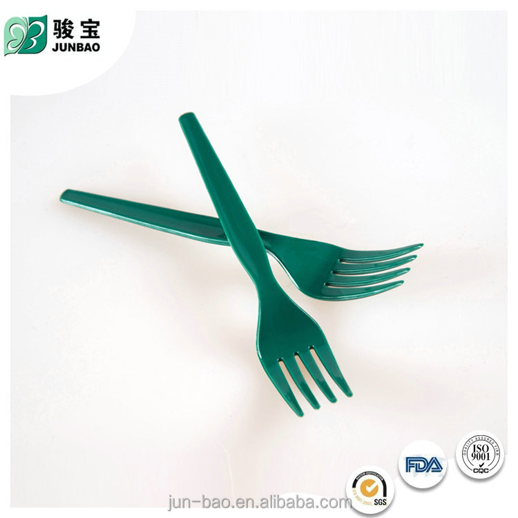 The newest promotional Eco-Friendly Disposable hard plastic fork