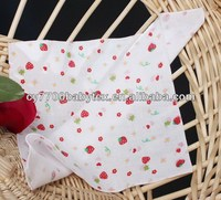 Custom Print 100% Cotton Muslin Baby Face Towel