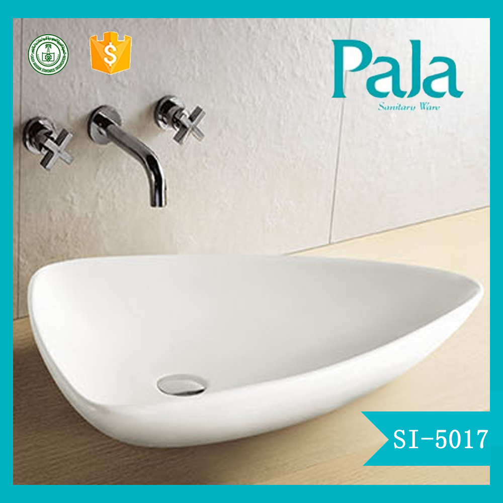 Bathroom ceramic new model wash basin pictures