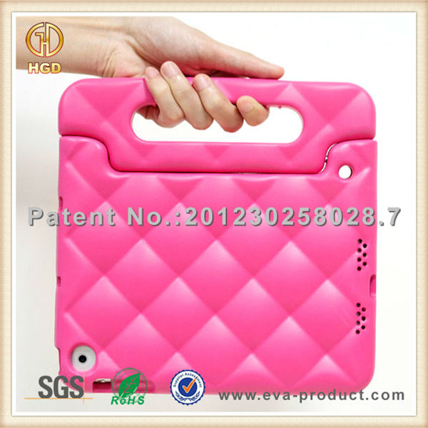 New arrival Eva fashion rhinestone case for tablet,tablet case for ipad mini