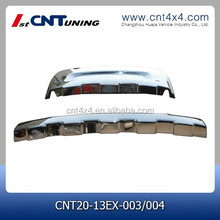 auto body kit front and rear Bumper for 2013 explorer