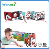 Alibaba kids educational baby cloth book hot selling baby first book for kids soft baby book