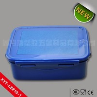 Food Grade PP Plastic Microwave Takeaway Food Container for Restaurant 500ml