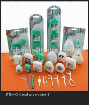 dental floss pick and dental floss