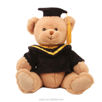 high quality stuffed promotion custom graduation teddy bears