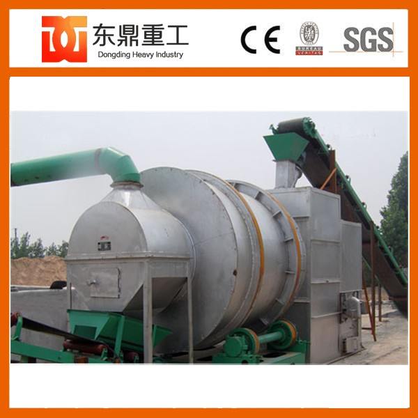 Low fuel consumption sand dryer/used rotary sand dryer price for sale