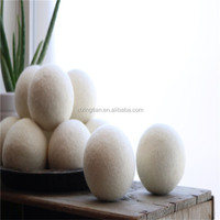Environmently Wool Dryer Felt Ball With