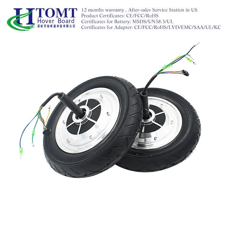 2016 HTOMT 350W 2 wheels electric scooter hoverboard electric wheel hub motor 1 pc for hoverboard repair