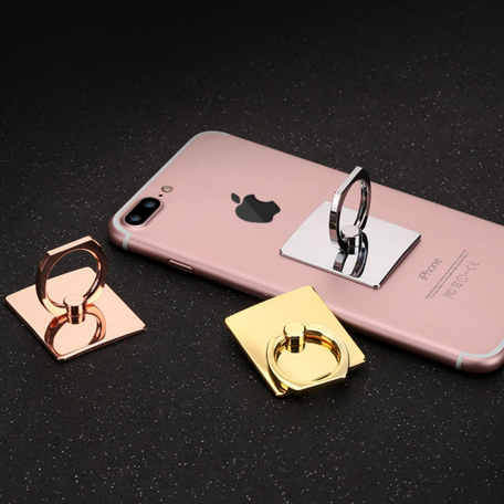 high quality metallic mobile phone metal ring stand holder finger phone ring desktop holder